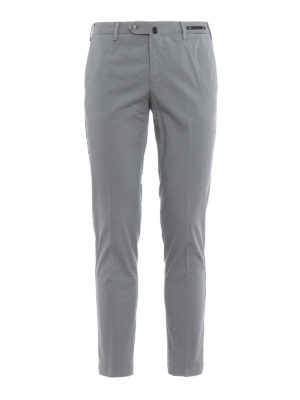 Pt 01: casual trousers - Cotton skinny chino trousers