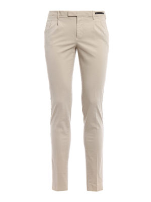 Pt 01: casual trousers - Cotton skinny fit trousers
