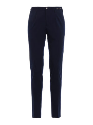Pt 01: casual trousers - Double jersey preppy trousers