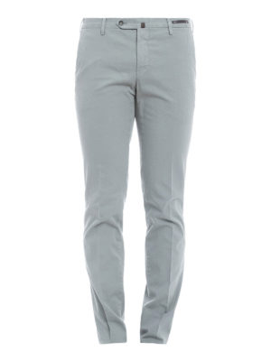 Pt 01: casual trousers - Jacquard cotton trousers