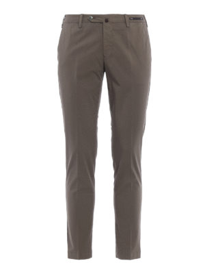 Pt 01: casual trousers - Lightweight stretch cotton chino