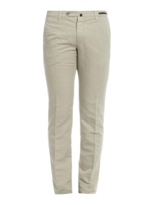 Pt 01: casual trousers - Linen and cotton blend chinos