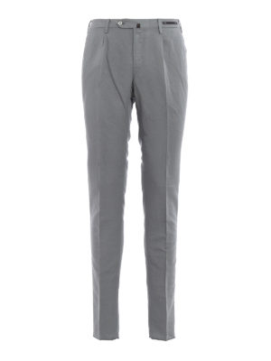 Pt 01: casual trousers - Linen and cotton blend trousers