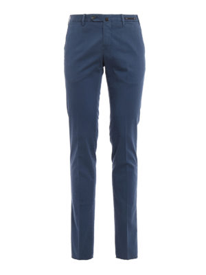 Pt 01: casual trousers - Micro patterned cotton trousers