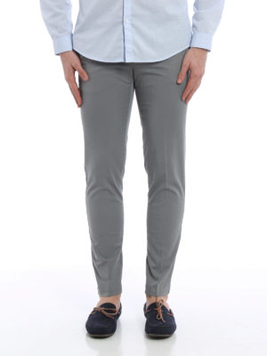 Pt 01: casual trousers online - Cotton skinny chino trousers