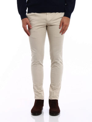 Pt 01: casual trousers online - Cotton skinny fit trousers