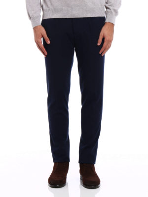 Pt 01: casual trousers online - Double jersey preppy trousers