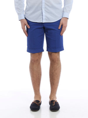 Pt 01: casual trousers online - Jacquard cotton shorts
