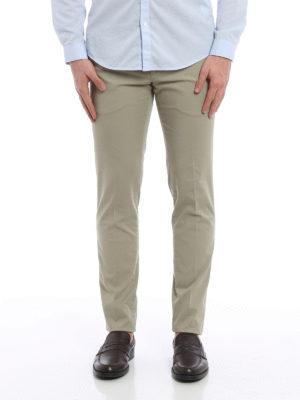 Pt 01: casual trousers online - Jacquard cotton trousers