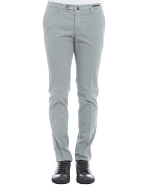 Pt 01: casual trousers online - Jacquard cotton trousers