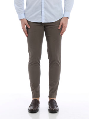 Pt 01: casual trousers online - Lightweight stretch cotton chino