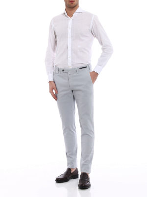 Pt 01: casual trousers online - Wornout Elegance grey trousers