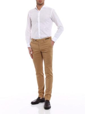 Pt 01: casual trousers online - Wornout Elegance light tan trousers