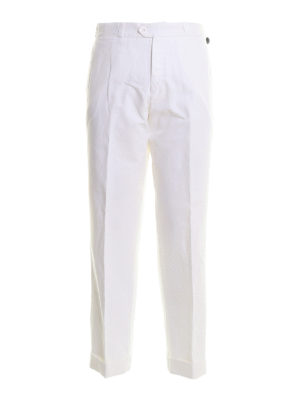 PT 01: casual trousers - The Writer linen canvas blend pants