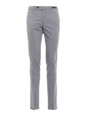 Pt 01: Tailored & Formal trousers - Bay blue Madras chinos