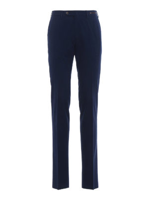 Pt 01: Tailored & Formal trousers - Bombay Hills slim fit blue chinos