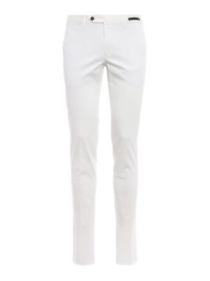 Pt 01: Tailored & Formal trousers - Bombay Hills slim fit white chinos