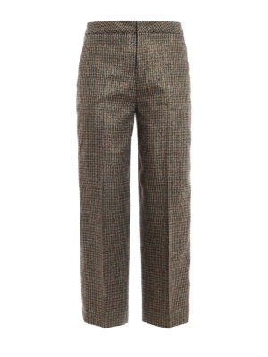 Pt 01: Tailored & Formal trousers - Michelle lurex wool trousers
