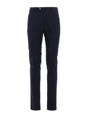 Pt 01: Tailored & Formal trousers - Micro check wool blend trousers