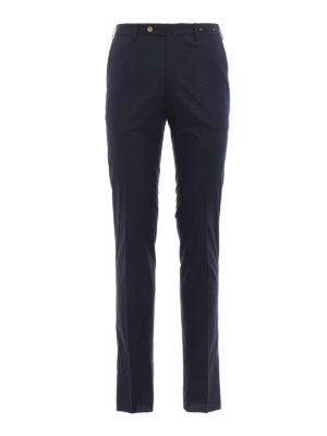 Pt 01: Tailored & Formal trousers - Micro pattern cotton trousers