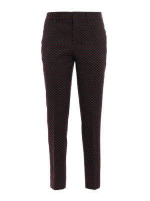 Pt 01: Tailored & Formal trousers - New York patterned trousers
