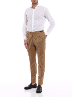 Pt 01: Tailored & Formal trousers online - Gentleman fit wool blend trousers