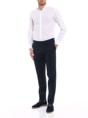 Pt 01: Tailored & Formal trousers online - Graven fit cotton Business trousers