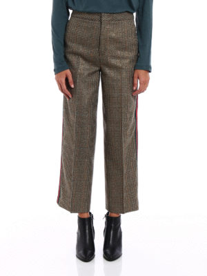 Pt 01: Tailored & Formal trousers online - Michelle lurex wool trousers