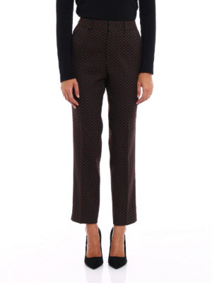 Pt 01: Tailored & Formal trousers online - New York patterned trousers