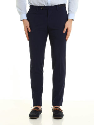 Pt 01: Tailored & Formal trousers online - San Blas techno wool trousers