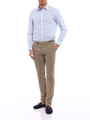Pt 01: Tailored & Formal trousers online - Spice Route slim fit Madras chinos