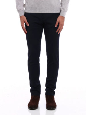 Pt 01: Tailored & Formal trousers online - Stretch wool blend skinny trousers