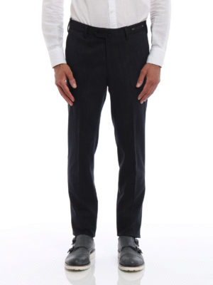 Pt 01: Tailored & Formal trousers online - Super slim cotton trousers