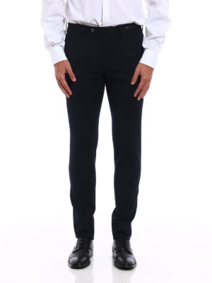Pt 01: Tailored & Formal trousers online - Water repellent wool blend trousers
