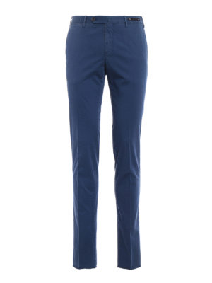 Pt 01: Tailored & Formal trousers - Spice Route blue Madras chinos