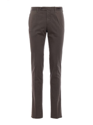 Pt 01: Tailored & Formal trousers - Spice Route green Madras chinos