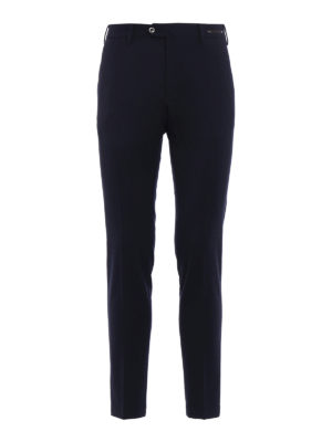 Pt 01: Tailored & Formal trousers - Stretch wool blend skinny trousers