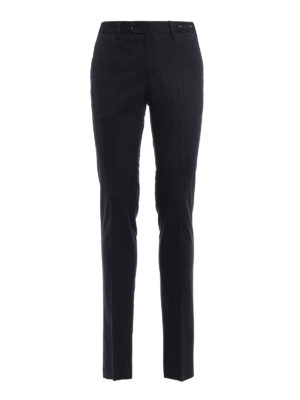 Pt 01: Tailored & Formal trousers - Super slim cotton trousers