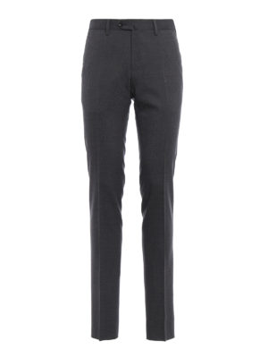Pt 01: Tailored & Formal trousers - Super slim stretch wool trousers