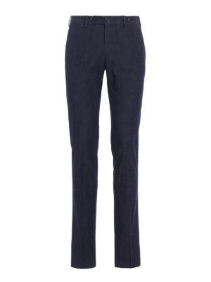 Pt 01: Tailored & Formal trousers - Ultralight slim fit denim chinos