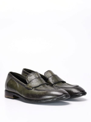 Raparo: Loafers & Slippers online - Used effect leather loafers