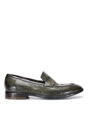 Raparo: Loafers & Slippers - Used effect leather loafers