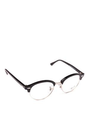 RAY-BAN: Occhiali - Occhiali half frame in acetato e metallo