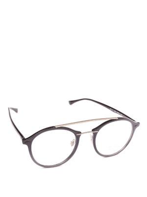RAY-BAN: Occhiali - Occhiali doppio ponte in acetato e metallo