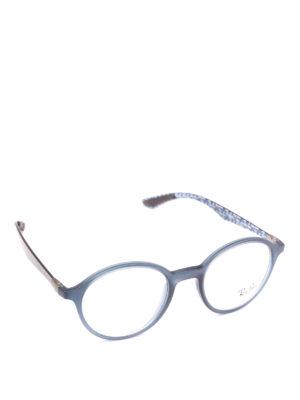 RAY-BAN: Occhiali - Occhiali da vista montatura blu matte