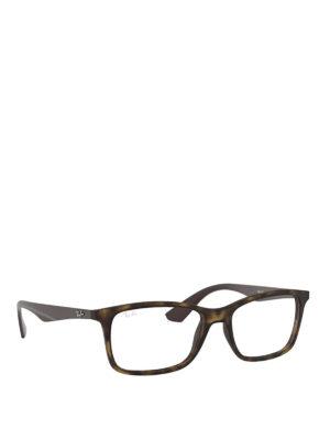 6ed4f267ed RAY-BAN  Occhiali - Occhiali da vista squadrati tartarugati. Ray Ban.  Square frame tortoise eyeglasses
