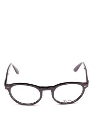 RAY-BAN: Occhiali online - Occhiali da vista ovali con montatura nera