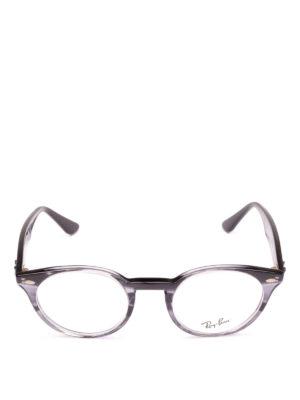 RAY-BAN: Occhiali online - Occhiali tondi con montatura effetto liquido
