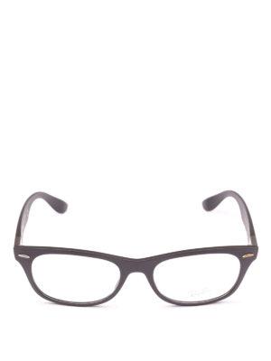 RAY-BAN: Occhiali online - Occhiali cat-eye rettangolari montatura nera