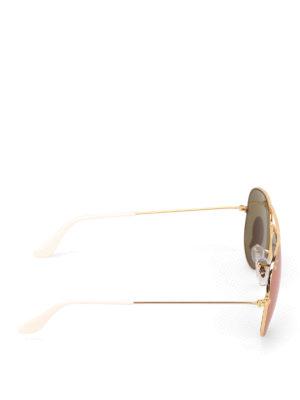 RAY-BAN: occhiali da sole online - Occhiali da sole Aviator dorati